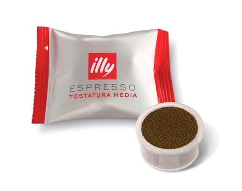 Cápsula de café tostado medio illy